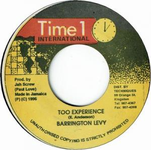 TOO EXPERIENCE (VG)