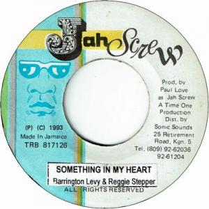 SOMETHING IN MY HEART (VG+)