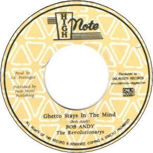 GHETTO STAYS IN THE MIND / DUB