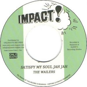 SATISFY MY SOUL JAH JAH / DUB