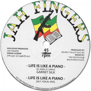 LIFE IS LIKE A PIANO / DUB