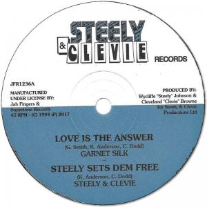 LOVE IS THE ANSWER / A MAN IN LOVE