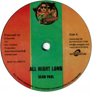 ALL NIGHT LONG / FRAID FI GO HOME