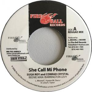 SHE CALL MI PHONE(Reggae Mix) / (Hip Hop Mix)