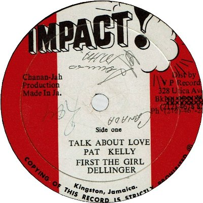 TALK ABOUT LOVE (G+/SWOL) / I'VE BEEN TRYING (VG/WOL)