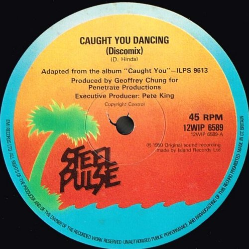 CAUGHT YOU DANCING Disco Mix (VG+) / HEART OF STONE (VG+)