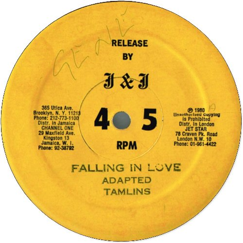 FALLING IN LOVE (VG+) / GROOVING (VG+)