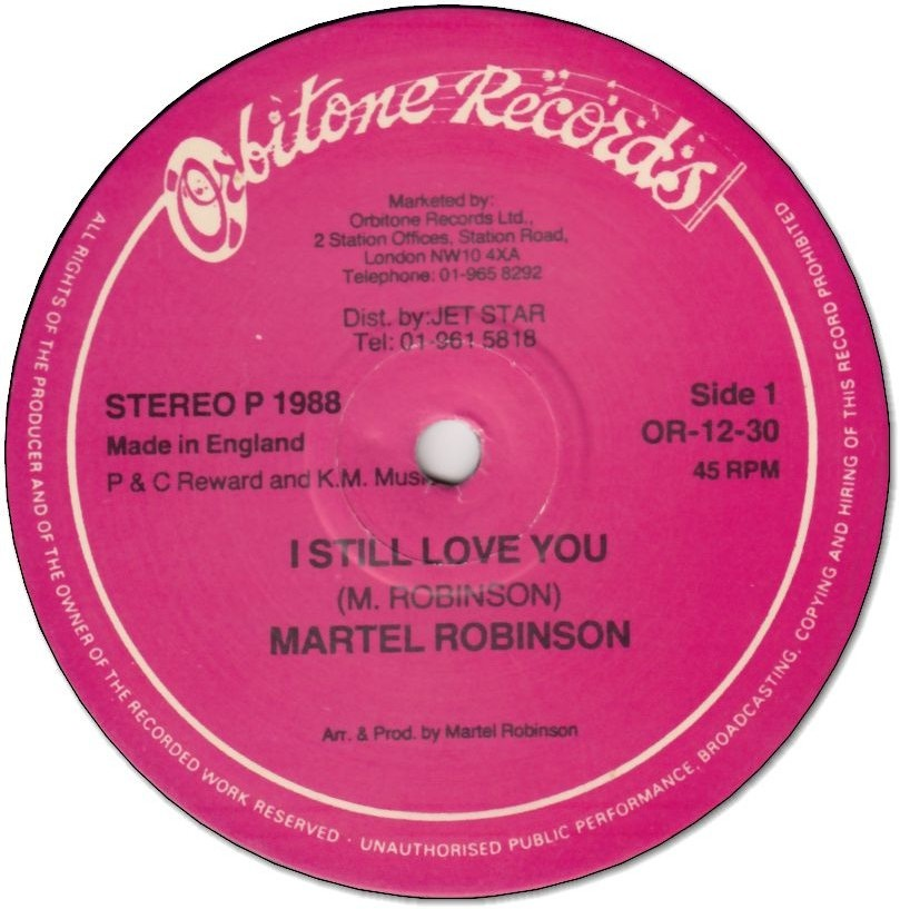 I STILL LOVE YOU (VG) / LET IT BE KNOWN (G)
