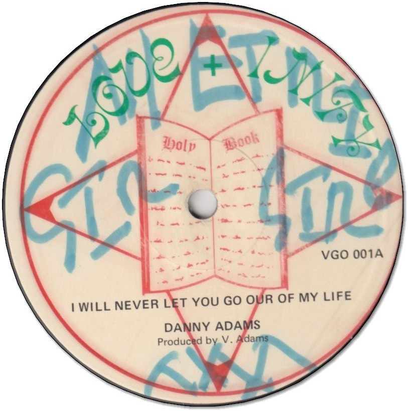 I WILL NEVER LET YOU GO OUR OF MY LIFE (VG+/WOL) / DREADLOCKS AFFAIR (VG+/WOL)