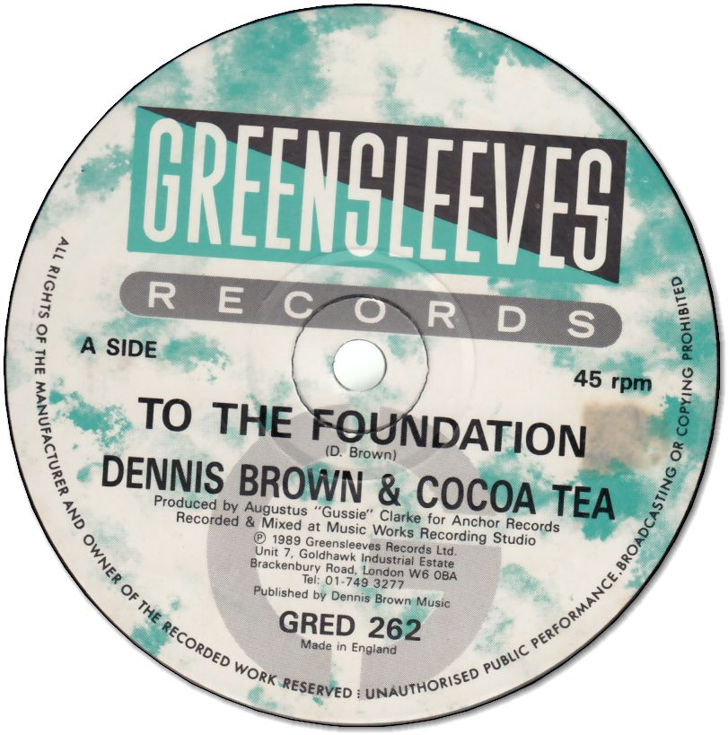 TO THE FOUNDATION (VG+/シール跡)  / TO THE FOUNDATION 1981/ TO THE FOUNDATION (VG+/シール跡)