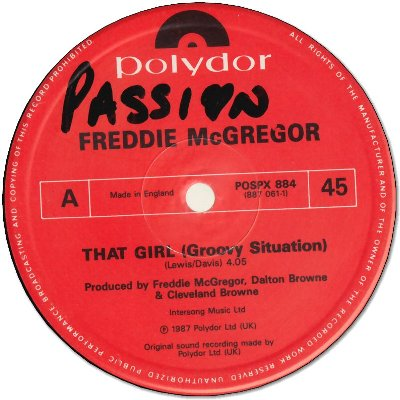 THAT GIRL(Groovy Situation) (VG+) / DUB (VG+) / WANDO