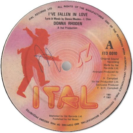 I'VE FALLEN IN LOVE (VG) / I'M DUBBING IN LOVE (VG+)