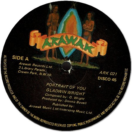PORTRAIT OF YOU (EX) / DUB GALLARY (EX)