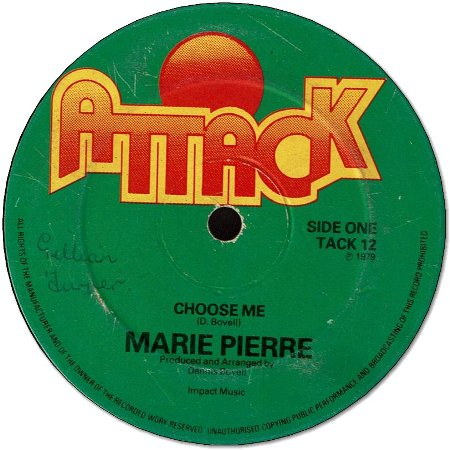 CHOOSE ME (VG) / SOMEONE ELSE'S MAN (VG)