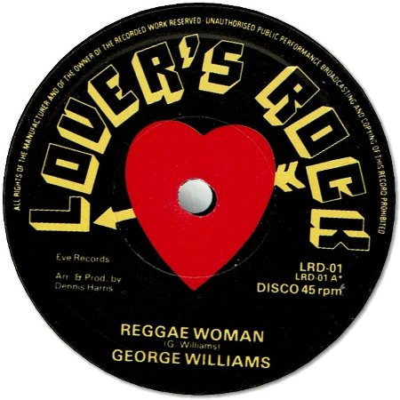 REGGAE WOMAN (VG+) / NO ONE TAKES THE PLACE OF YOU (VG+)