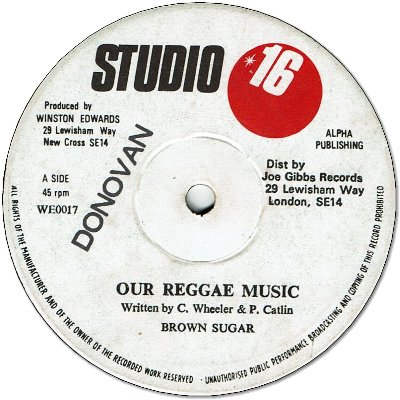 OUR REGGAE MUSIC (VG+/stamp) / DUB (VG+)
