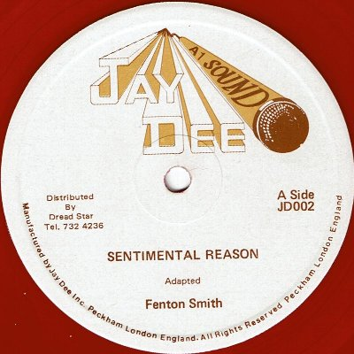 SENTIMENTAL REASON (VG+) / MAKE IT WITH YOU GIRL (VG+)