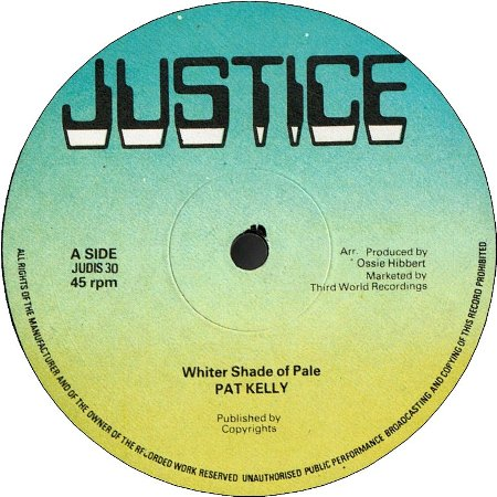 WHITER SHADE OF PALE (VG+) / YOUNG SAX (VG+)