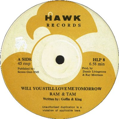 WILL YOU STILL LOVE ME TOMORROW (VG+)