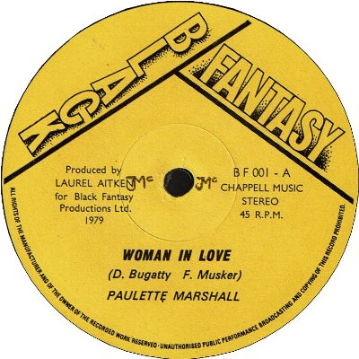 WOMAN IN LOVE (VG+) / WHY DID YOU LEAVE ME AND GO (VG+)