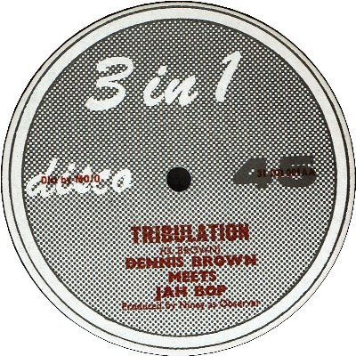 TRIBULATION (VG+) / CAN YOU FEEL IT (VG)