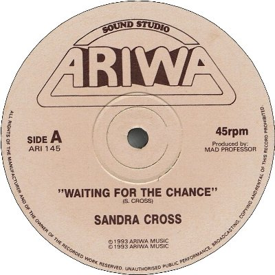 WAITING FOR THE CHANCE (VG+) / FOUNDATION OF LOVE (VG+)