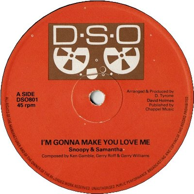 I'M GONNA MAKE YOU LOVE ME (VG+)