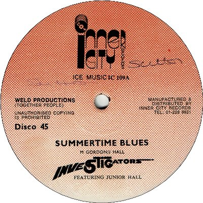 SUMMERTIME BLUES (VG+) / DUB (VG+)