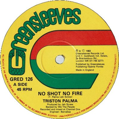NO SHOT NO FIRE (VG+) / JUKES AND WATCH (VG+)