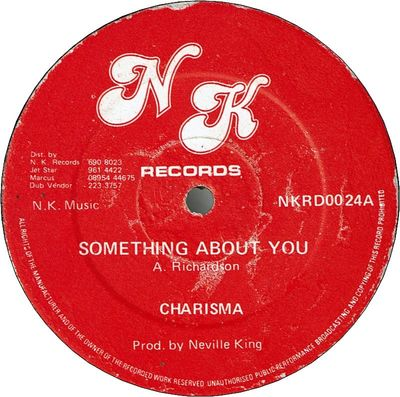SOMETHING ABOUT YOU (VG+)