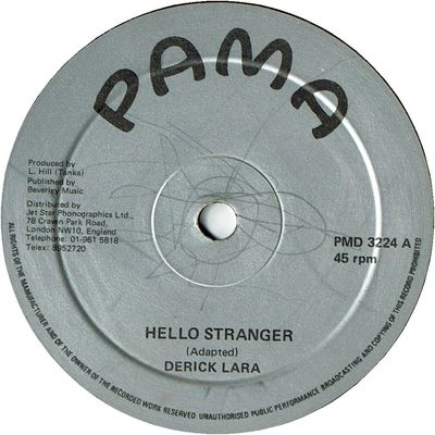 HELLO STRANGER  (VG) / VERSION (VG)