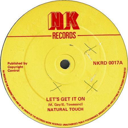 LET'S GET IT ON (VG+/WOL) / GET IT OFF