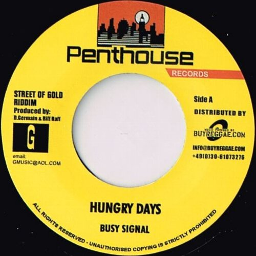HUNGRY DAYS / LOCK DE CHART