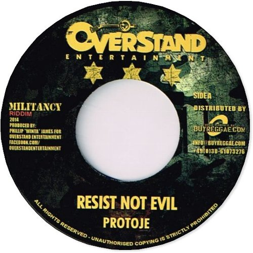 RESIST NOT EVIL / Version