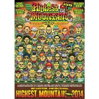 HIGHEST MOUNTAIN 2014(ポスター付き/2枚組DVD)