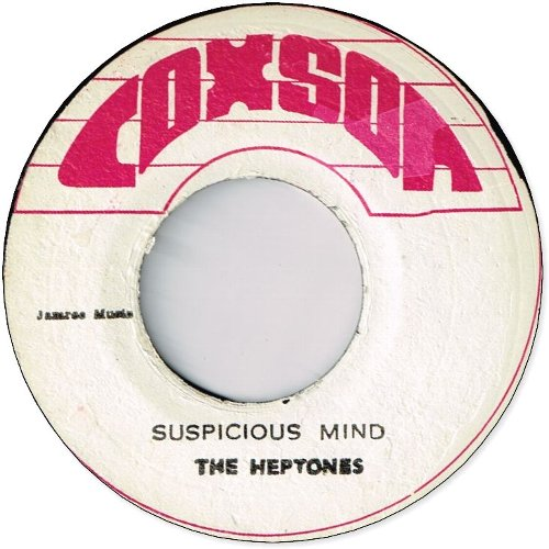 SUSPICIOUS MIND / HAVEN'T YOU ANY FIGHT LEFT