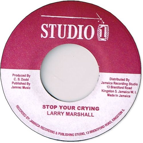 STOP YOUR CRYING / A DIS YA CANDY