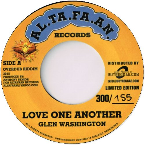 LOVE ONE ANOTHER / CAN'T STAND THIS (Limited Edition 300)