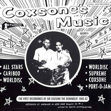 COXSONE'S MUSIC : The First Recordings Of Sir Coxsone The Downbeat 1960-62(3CD)