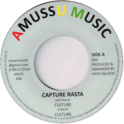 CAPTURE RASTA