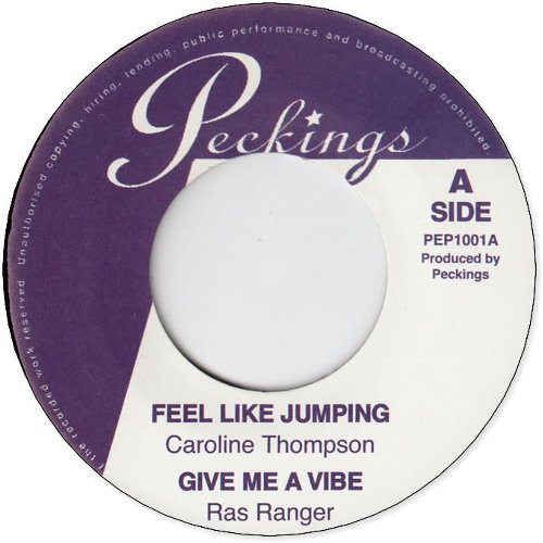 FEEL LIKE JUMPING /  GIVE ME A VIBE / LIVE ACROSS THE ROAD /  TEK IT OFF