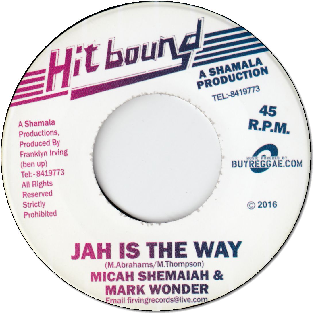 JAH IS THE WAY / VERSION