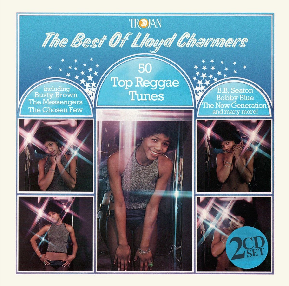THE BEST OF LLOYD CHARERS : 50 Top Reggae Tunes(2CD)