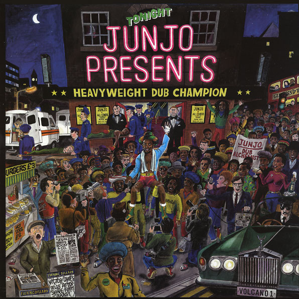 JUNJO presents: HEAVY WEIGHT DUB CHAMPION (2LP)