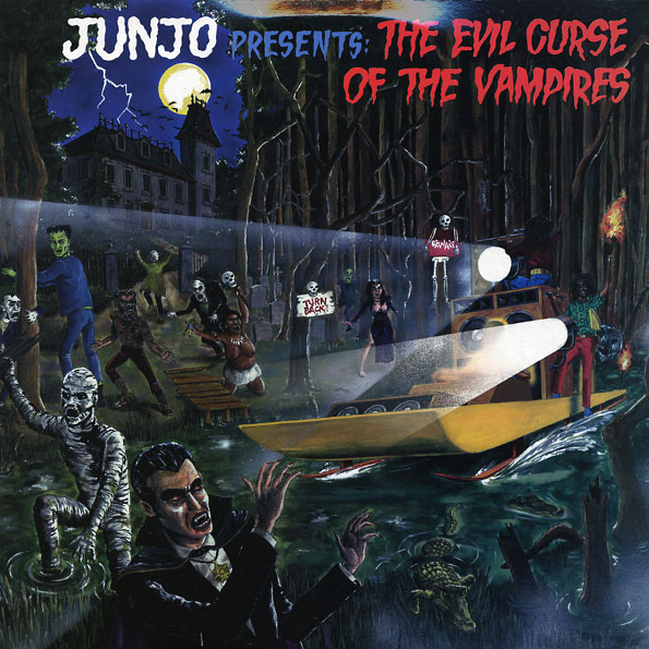 JUNJO presents: THE EVIL CURSE (2LP)