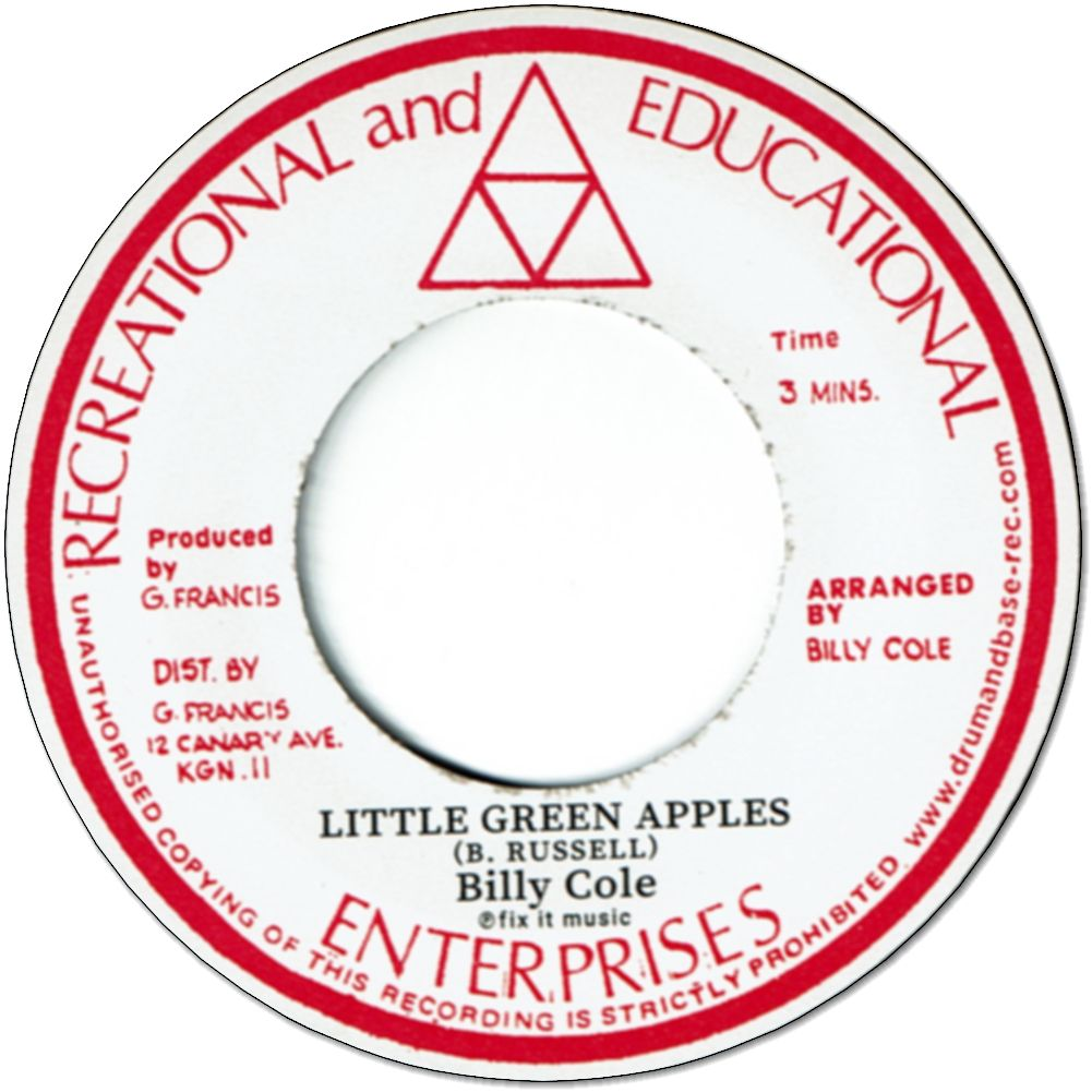 LITTLE GREEN APPLE / MYSTIC MOOD