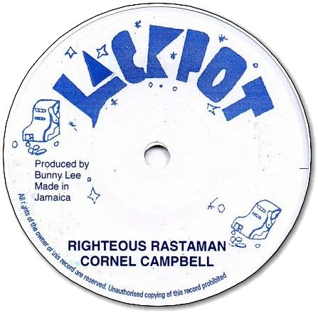 RIGHTEOUS RASTAMAN / DUB