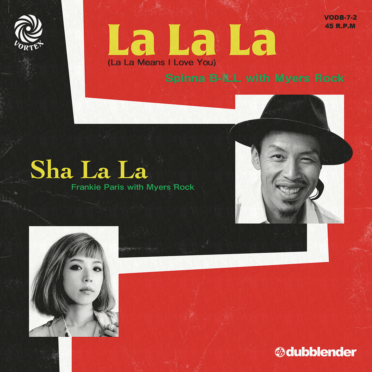 LA LA LA (La La Means I Love You) / SHA LA LA