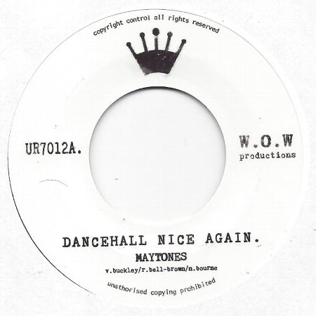 DANCEHALL NICE AGAIN / VERSION