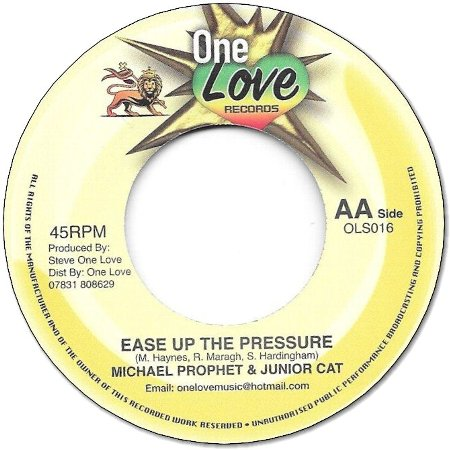 EASE UP THE PRESSURE / STAND UP